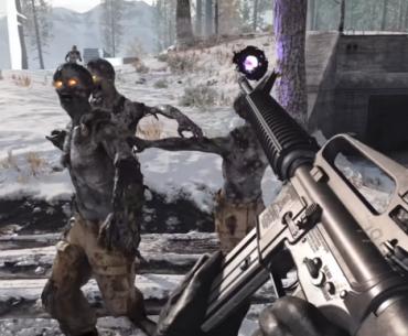 Jugabilidad de Zombie Onslaught para PS4 y PS5.