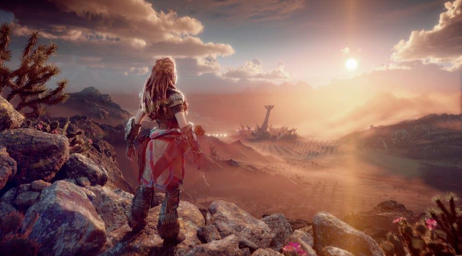 Una de las imágenes promocionales de 'Horizon: Forbidden West