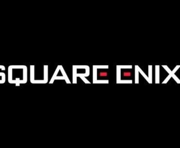 Logo de Square Enix en un fondo de color negro
