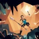 Lara Croft del juego Tom Raider Reloaded para smartphones