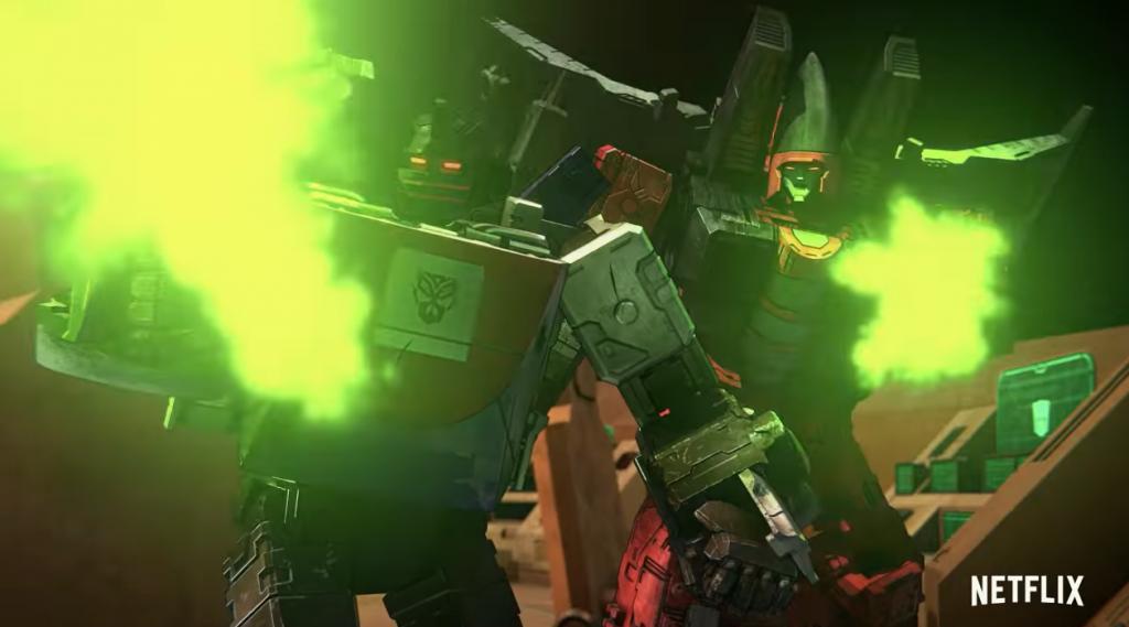 Mercenarios en Transformers: War For Cybertron Earthrise