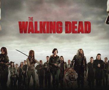 Arte promocional de The Walking Dead.