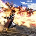 Imagen. Tomada del gameplay de Kin'emon de 'One Piece Pirate Warriors 4' usando todo su poder.