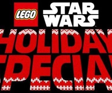 Logo del LEGO Star Wars Holiday Special de Disney+