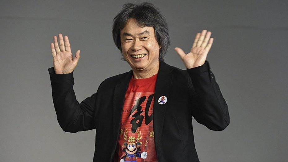 Shigeru Miyamoto, Representante de Nintendo
