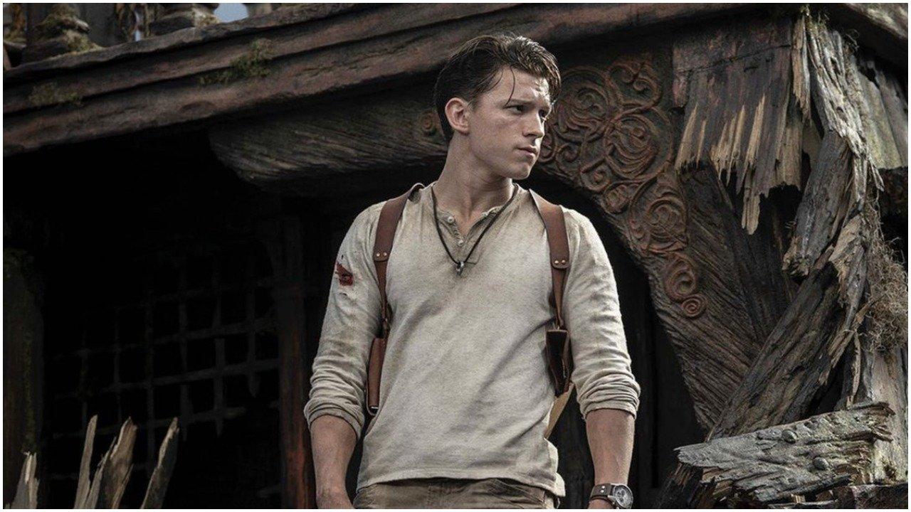 Tom Holland como Nathan Drake de Uncharted