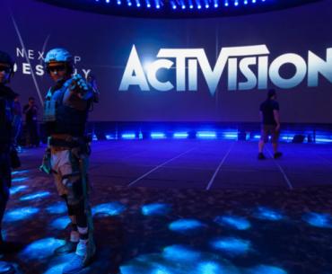Cosplays de Call of Duty en evento de Activision.