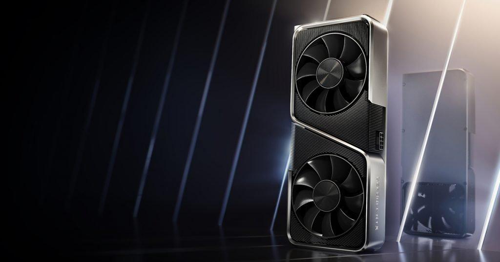Imagen promocional de la Nvidia 3070.