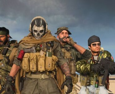 Woods, Ghost y otros personajes de Call of Duty.