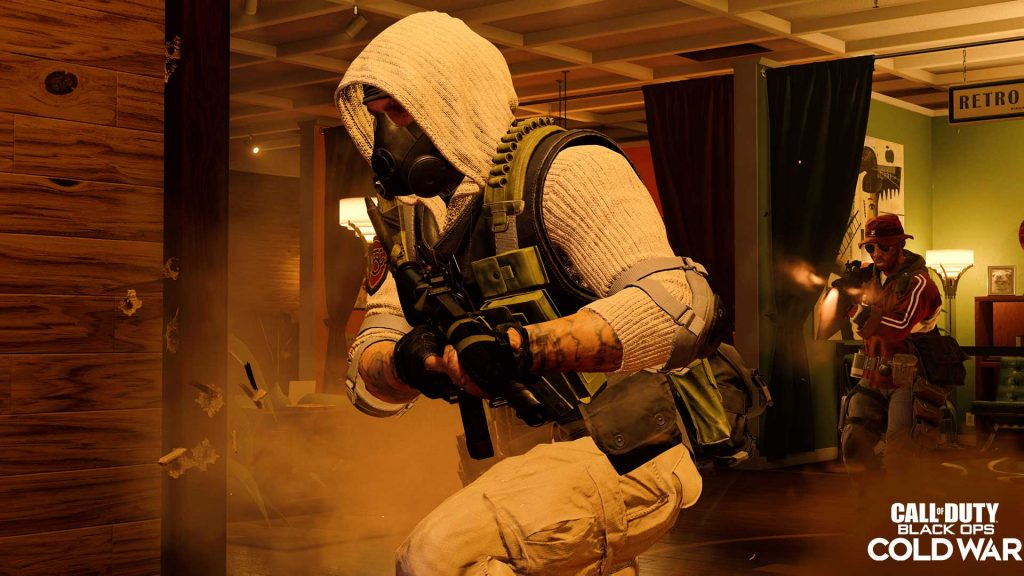 Tiroteo en Call of Duty: Black Ops Cold War..