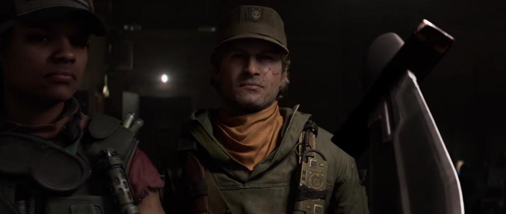 Adler en el tráiler de la temporada uno de Call of Duty: Black Ops Cold War.
