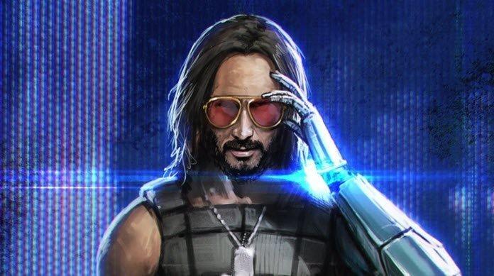 Uno de los personajes de Cyberpunk 2077