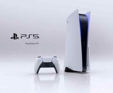 Consola PS5 con DualSense.