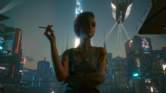 Judy de Cyberpunk 2077.
