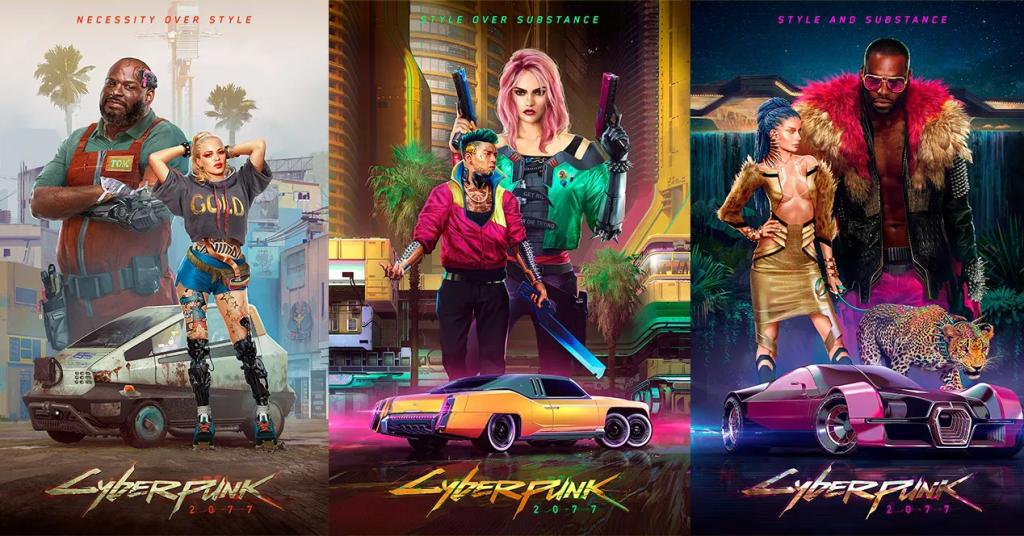 Imagen promocional de Cyberpunk 2077.