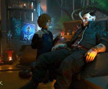 Jackie y su pareja en Cyberpunk 2077.
