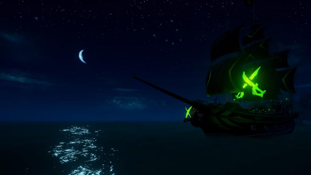 Skin Duke para botes en Sea of Thieves.