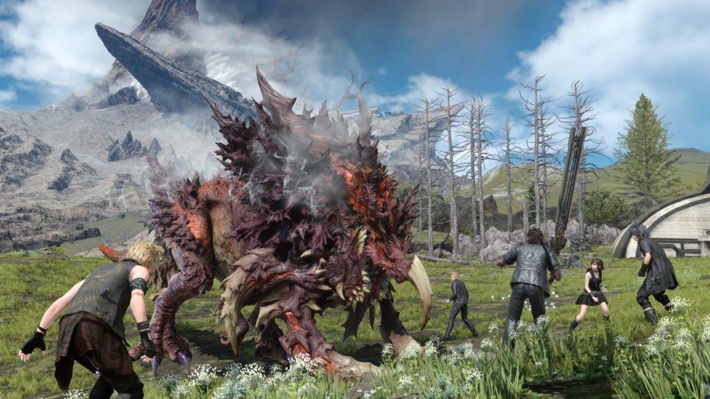 Jugabilidad de Final Fantasy XV.
