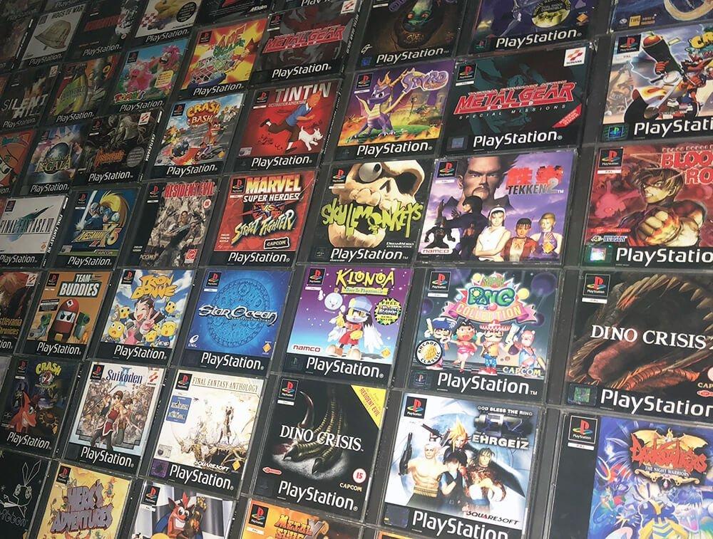 Juegos de PS One.