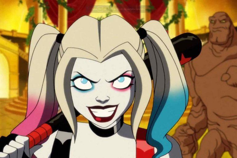 Harley Quinn interpretada por Kaley Cuoco