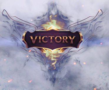 Logo de victoria de League of Legends