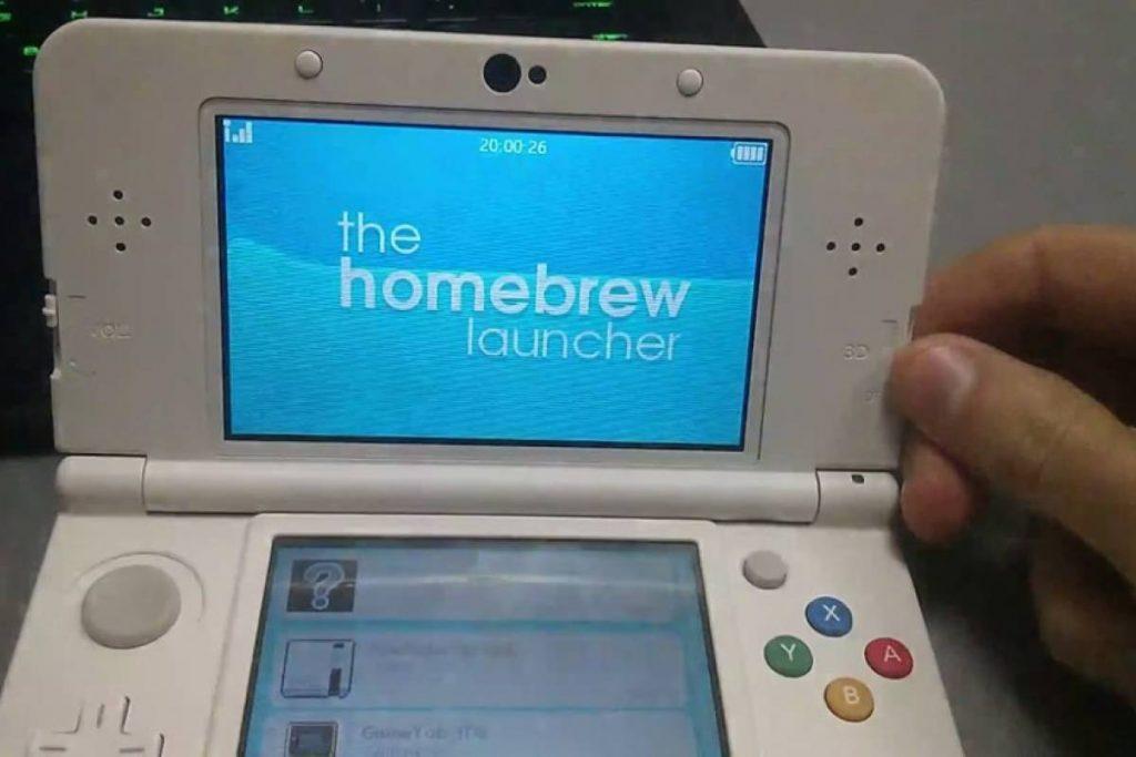 Nintendo 3DS hackeada.