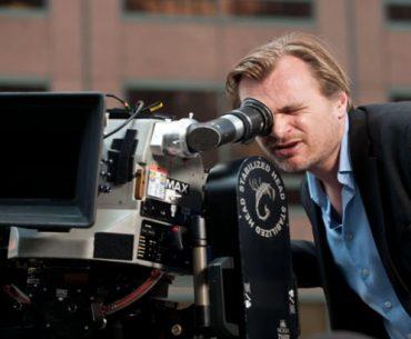 Christopher Nolan en el set de grabación