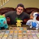 Caleb King estudiante que vendió sus cartas de Pokemon en $80,000