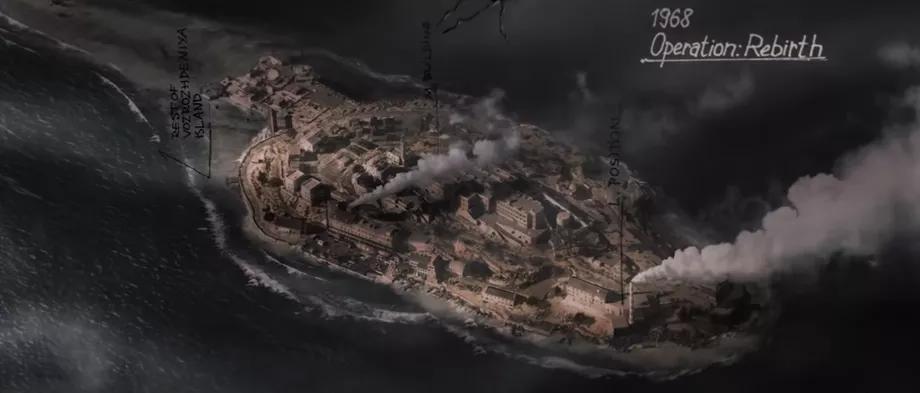 Isla Rebirth del primer Black Ops.