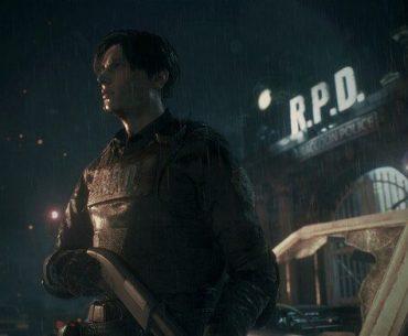 Leon Kennedy en Resident Evil 2: Remake.