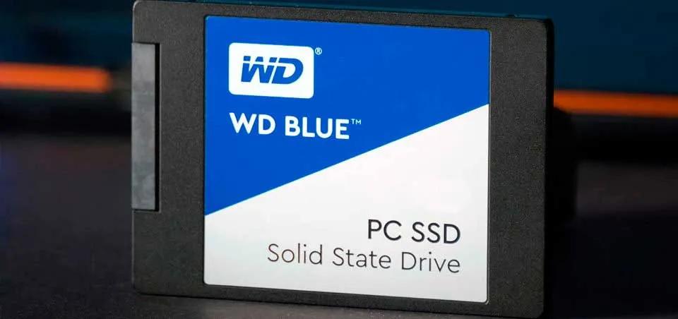 SSD de Western Blue.