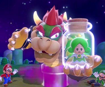 Bowser en Super Mario 3D World + Bowser's Fury.