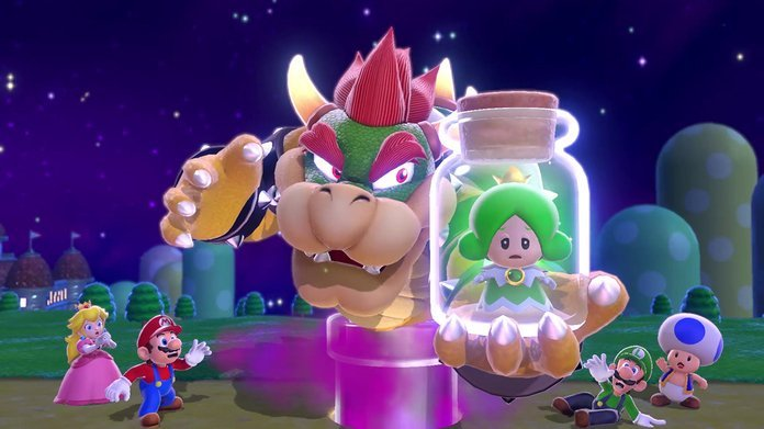 Bowser en Super Mario 3D World + Bowser's Fury.