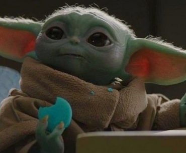 Baby Yoda en el episodio de The Heist de The Mandalorian