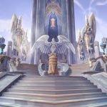 Unas lindas escaleras de World of Warcraft