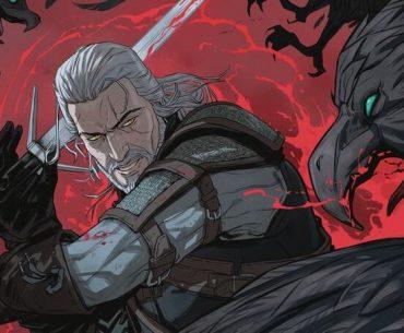 Portada de cómic de The Witcher.