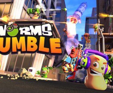 Portada de Worms Rumble.