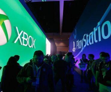 Logo de Xbox y PlayStation en la E3