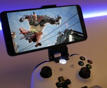 xCloud corriendo en un smartphone.