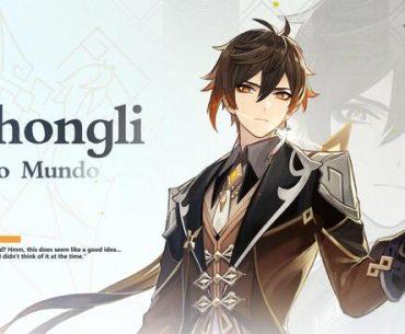 Imagen promocional de Zhongli.