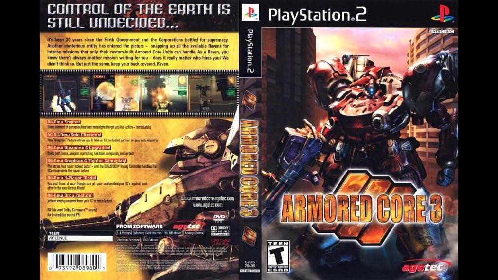 Case de Armored Core 3.
