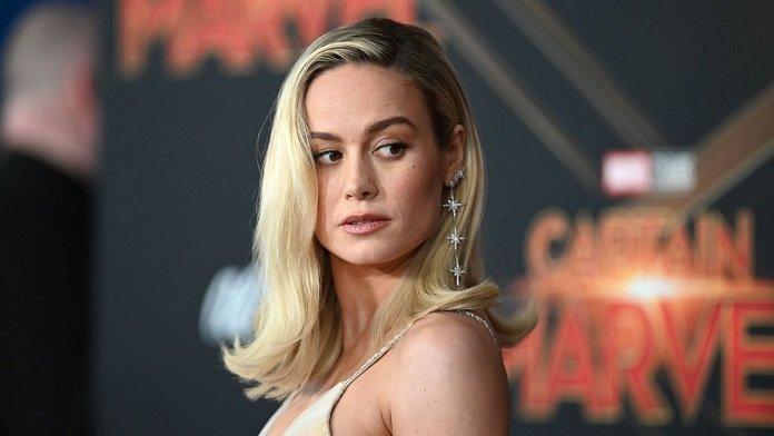 Brie Larson en estreno de Captain Marvel