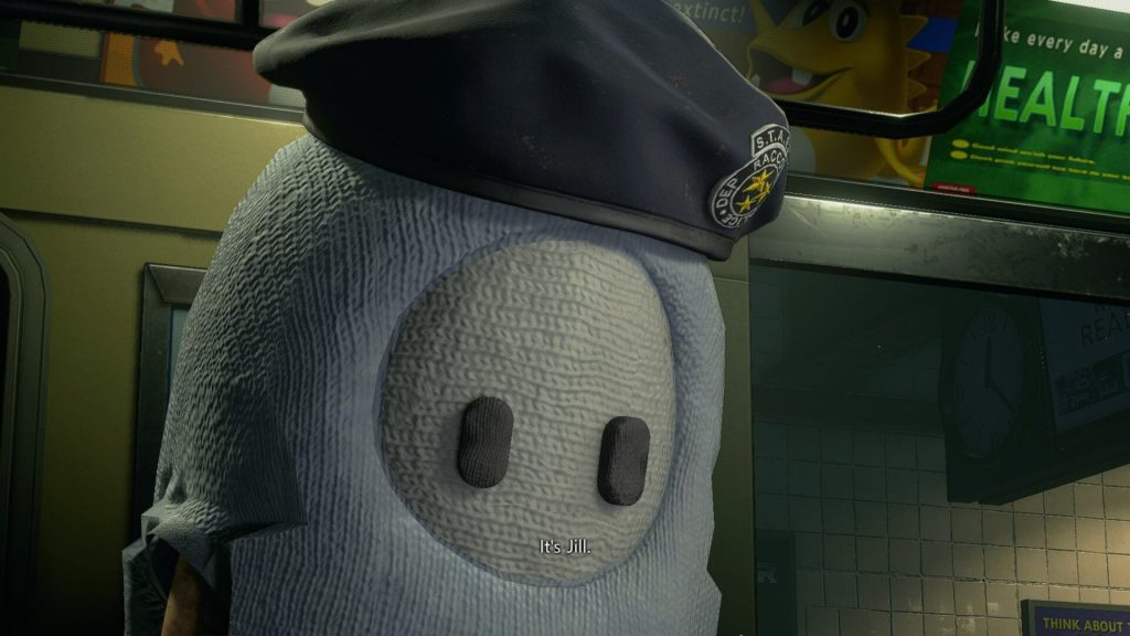 Mod de Resident Evil 3 con Fall Guys.
