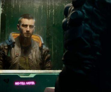 V de Cyberpunk 2077 en tráiler.