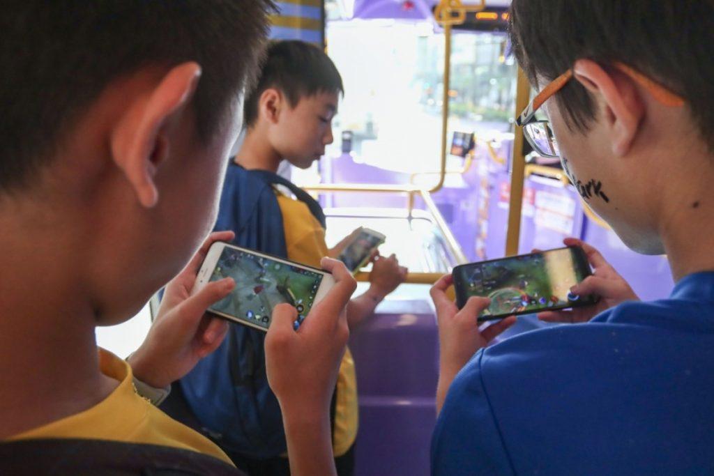 Jugadores chinos menores de edad.