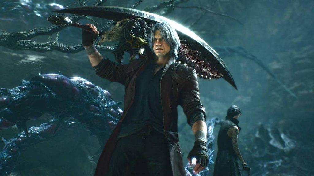 Dante de Devil May Cry.