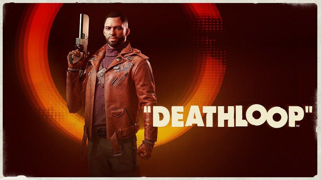 Arte promocional de Deathloop.