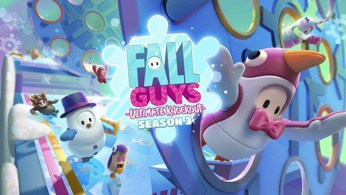 Imagen promocional de tercera temporada de Fall Guys.