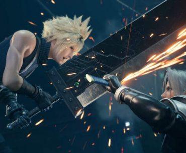 Cloud contra Sephiroth en FF VII.