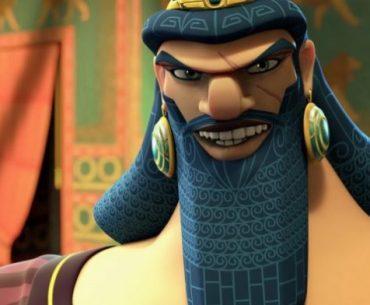 Imagen del héroe de Mesopotamia Gilgamesh en la versión de Epic Games